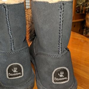 Bear Paw boots ankle boots Navy Blue Size 8